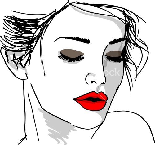Lipstick rood
